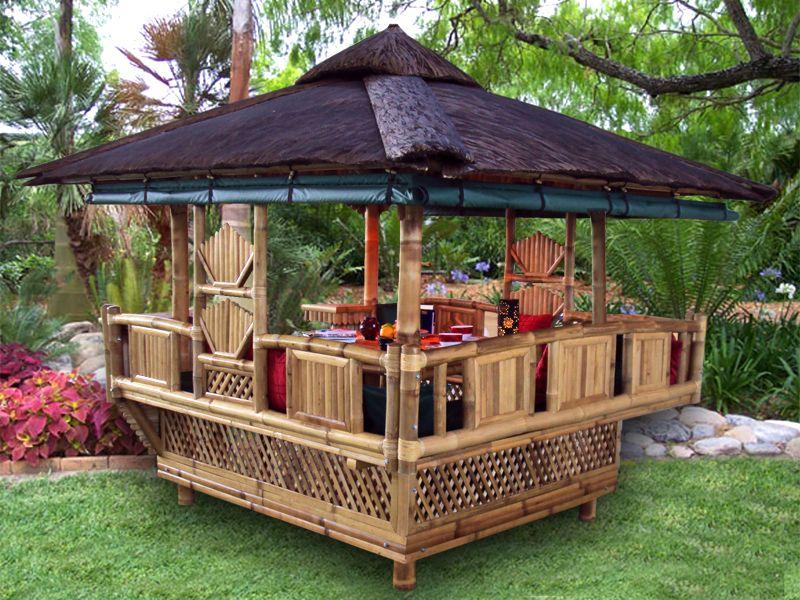 Bamboo Gazebo Bamboo Building Bamboo House Backyard Diy Projects