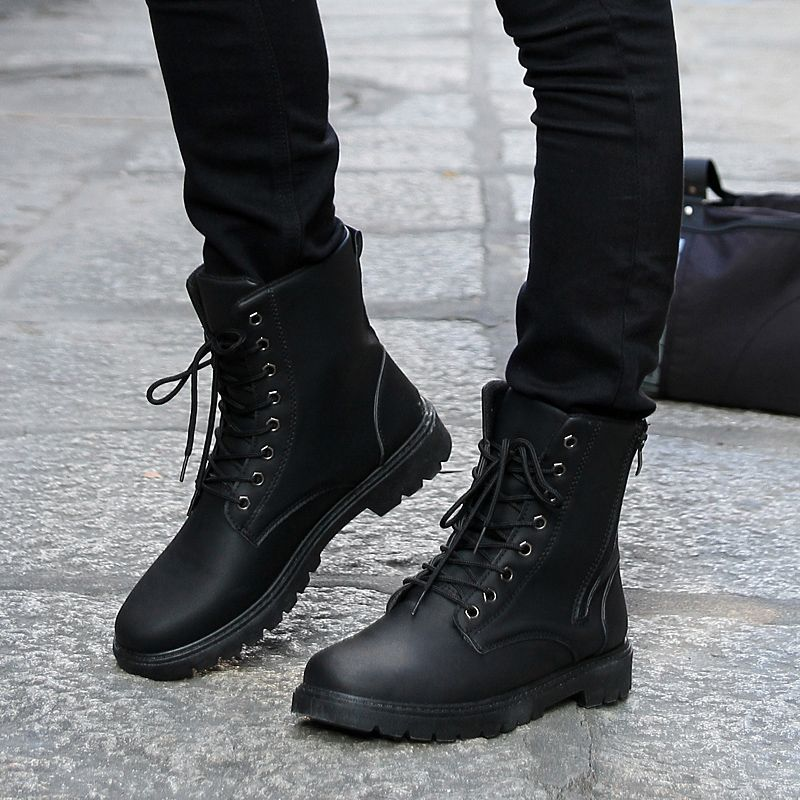 48 Musthave Boots for Men This Winter is part of Black combat boots - With a great pair of winter boots on your feet, snow, ice, and the frigid temperatures won't stop you from […]