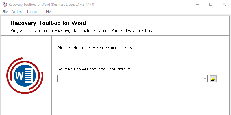 Recovery Toolbox For Word An Easy Way To Repair Corrupt Word
