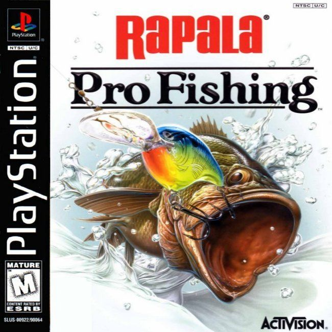 Comprar Jogos Ps 2 Xbox 360 Dvd Xbox360 Playstation 2 Ps2: Jogo Rapala Pro Fishing (Pesca) Para PlayStation PSX PS1