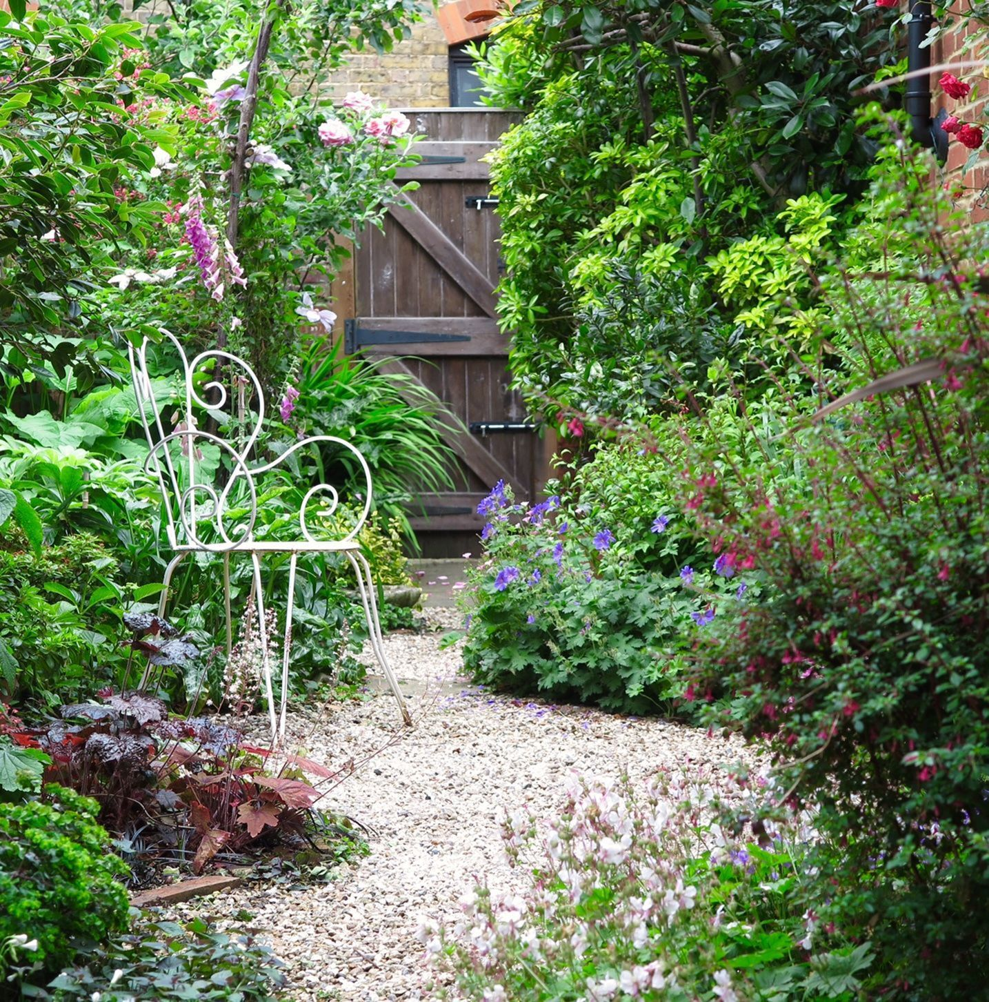 Potager Garden Design Ideas: Beautiful Small Cottage Garden Design Ideas 280