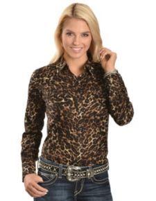 6da37f83 Women's Long Sleeve Western Shirts - Sheplers | Urban Cowgirl ...