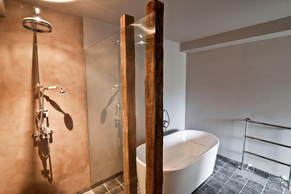 kalkverf in de badkamer | Interieur | Pinterest | Toilet