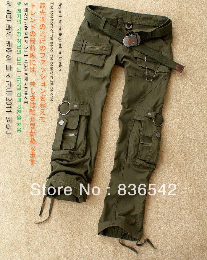 Pantalon Mujer Estilo Militar Pantalones Cargo Verdes Pantalones De Senderismo Pantalones De Combate