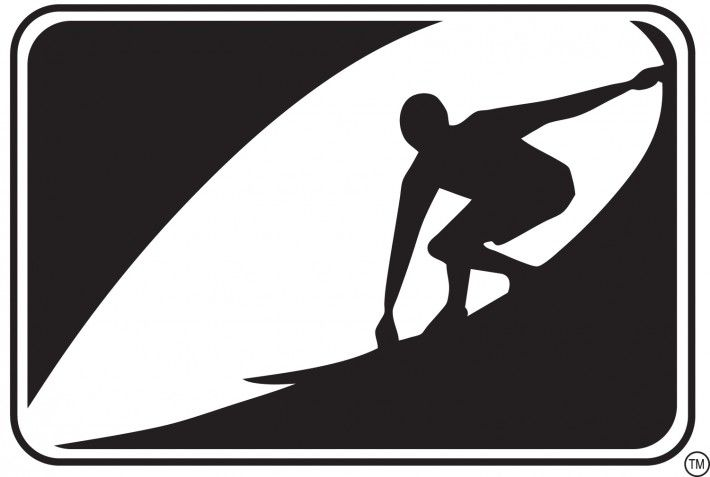 Surf Logo Retro Surfing Surfs Up Vintage