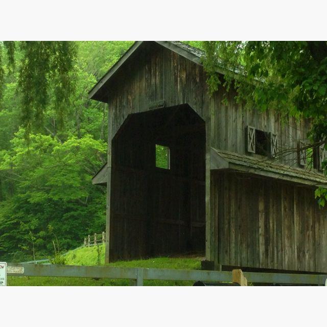 Covered Bridge On The Farm In N.C.