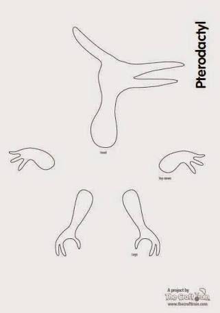 resultado de imagen para plantillas de dinosaurios mae pinterest
