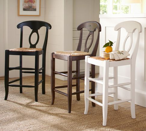 Napoleon 174 Rush Seat Chair Pottery Barn Dining Areas