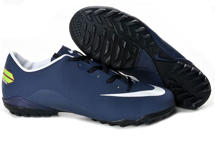 Nike Mercurial Vapor Superfly Iv FG Navy White Soccer Cleats