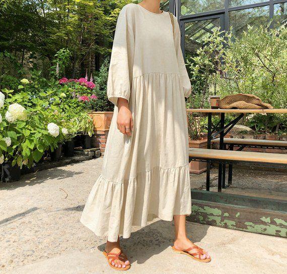 28++ Linen maxi dress information