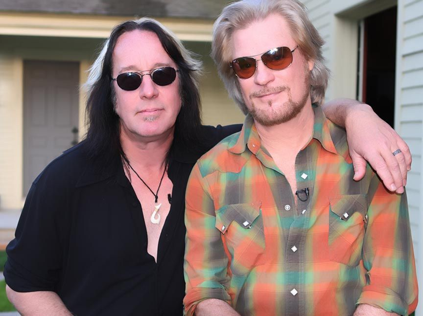 Live From Daryl's House with Daryl Hall and Tod Rundgren....♔...