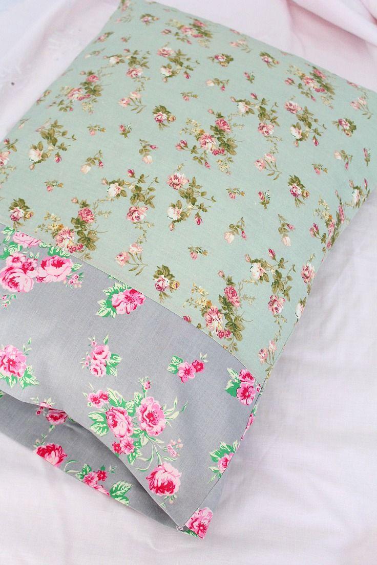 Pillowcase Tutorial Easy Sew For The Absolute Beginner