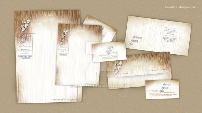 Unique And Modern Letterhead Examples  Designslayer  Graphics