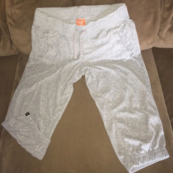 Nike gray Capris Size small Nike gray capris size small. In good condition . A light velour material .light wear  . Great for a spring workout. No trades or Merc Nike Pants Capris