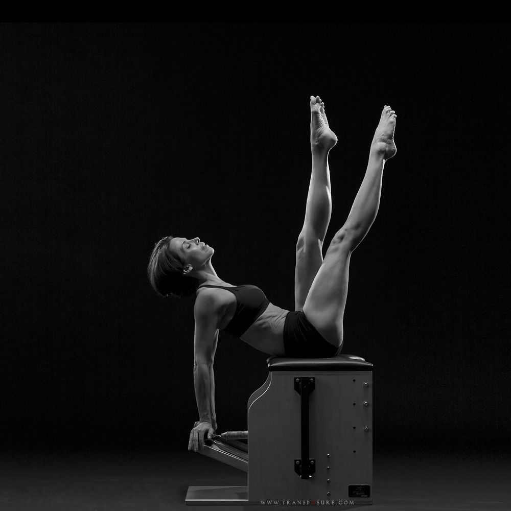 Balanced body pilates chair - Stacey Redfield Author And Pilates Expert At Age 51 Works Out On A
