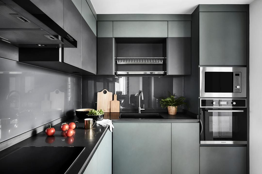 check out this contemporary style hdb kitchen and other similar styles on qanvast interior on kitchen ideas singapore id=45982
