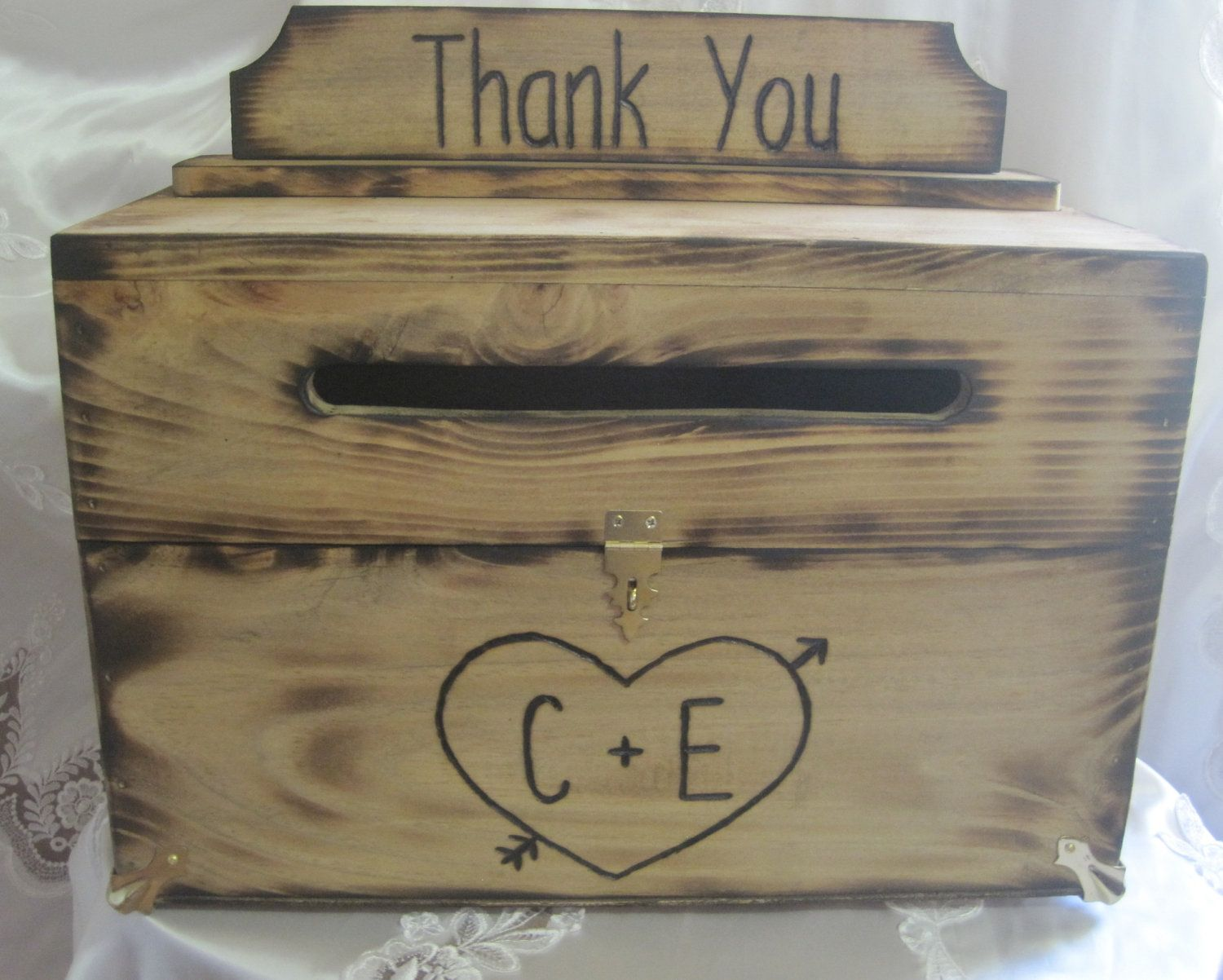 10 Best images about Rustic Wedding Card Boxes – Wooden Card Box Wedding