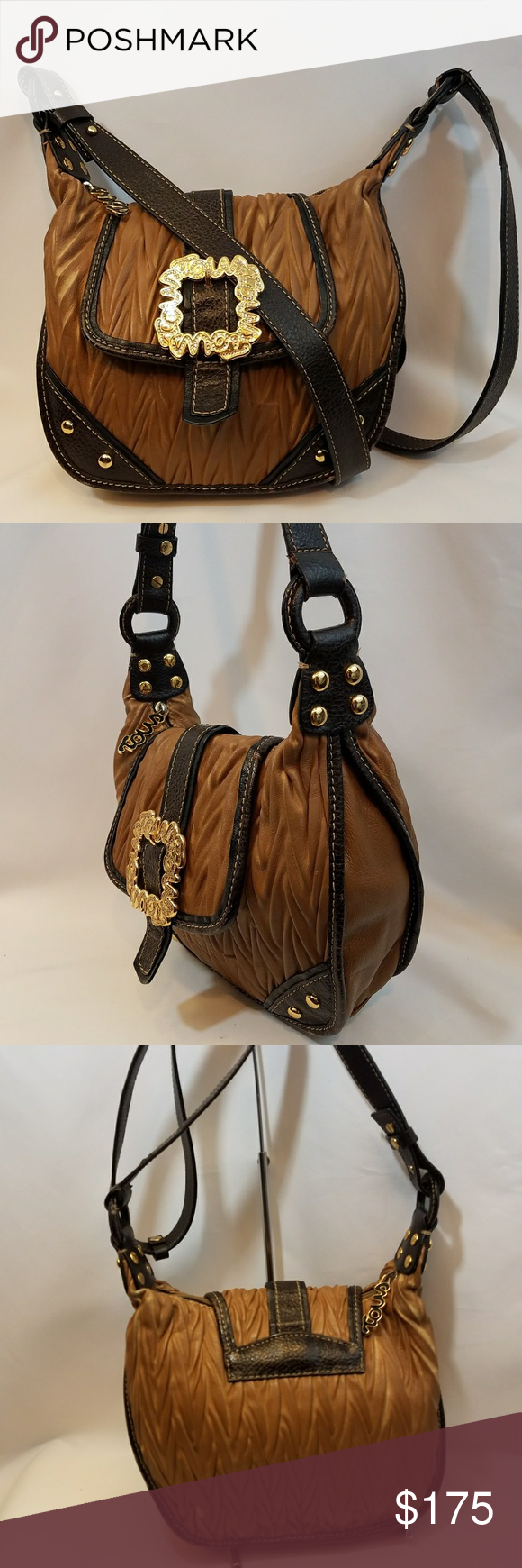 TOUS Pre-loved Leather Crossbody Bag Beautiful Pre-loved TOUS leather handbag Adjustable strap to wear on shoulder or crossbody style.   100% Authentic Tous Bags Shoulder Bags