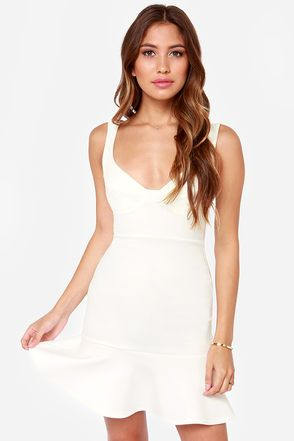 114b9a7c7 First Date Ivory Dress in 2019 | Everything white | Ivory dresses ...