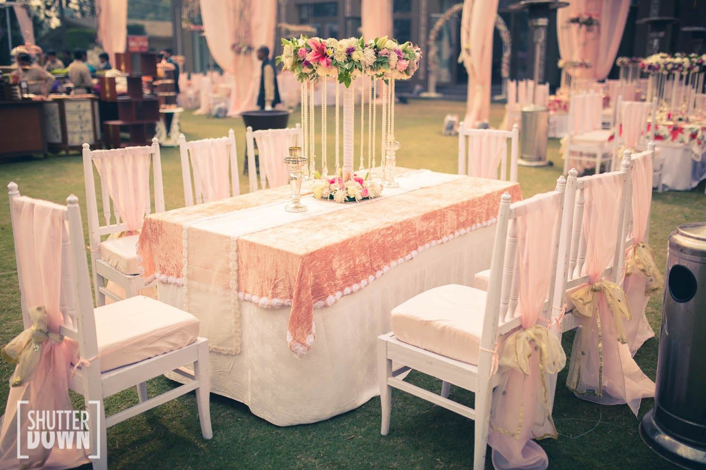 Nikita Sahil Victorian Inspired Wedding In Delhi Think Shaadi