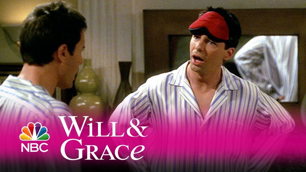 Will & Grace - Will\'s and Jack\'s Matching Jammies (Highlight ...