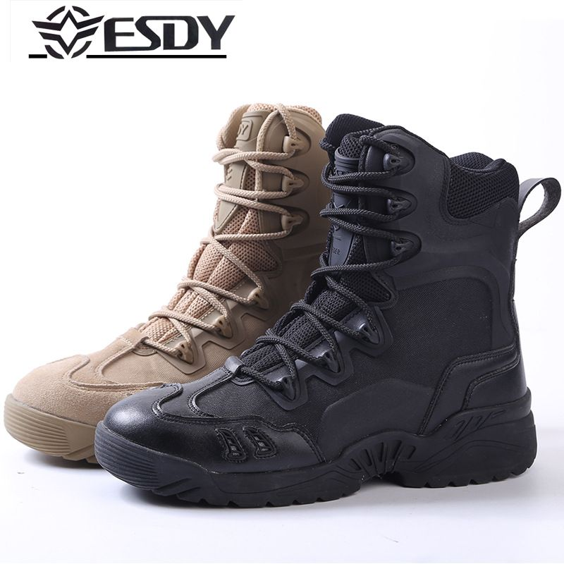 New2017 Outdoor ESDY U.S. military Boots Desert Combat