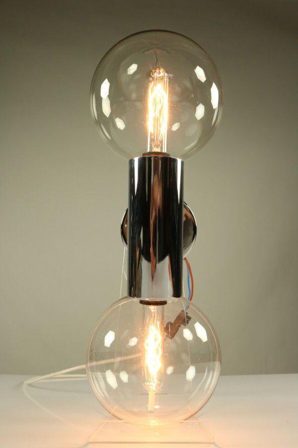 Uberlegen Wand Leuchte Staff Stab Kugel System Lampe Chrom Glas Motoko Ishii 70er  Jahre