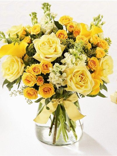 Yellow Wedding Flower Bouquet Bridal Flowers Add Pic Source On Comment