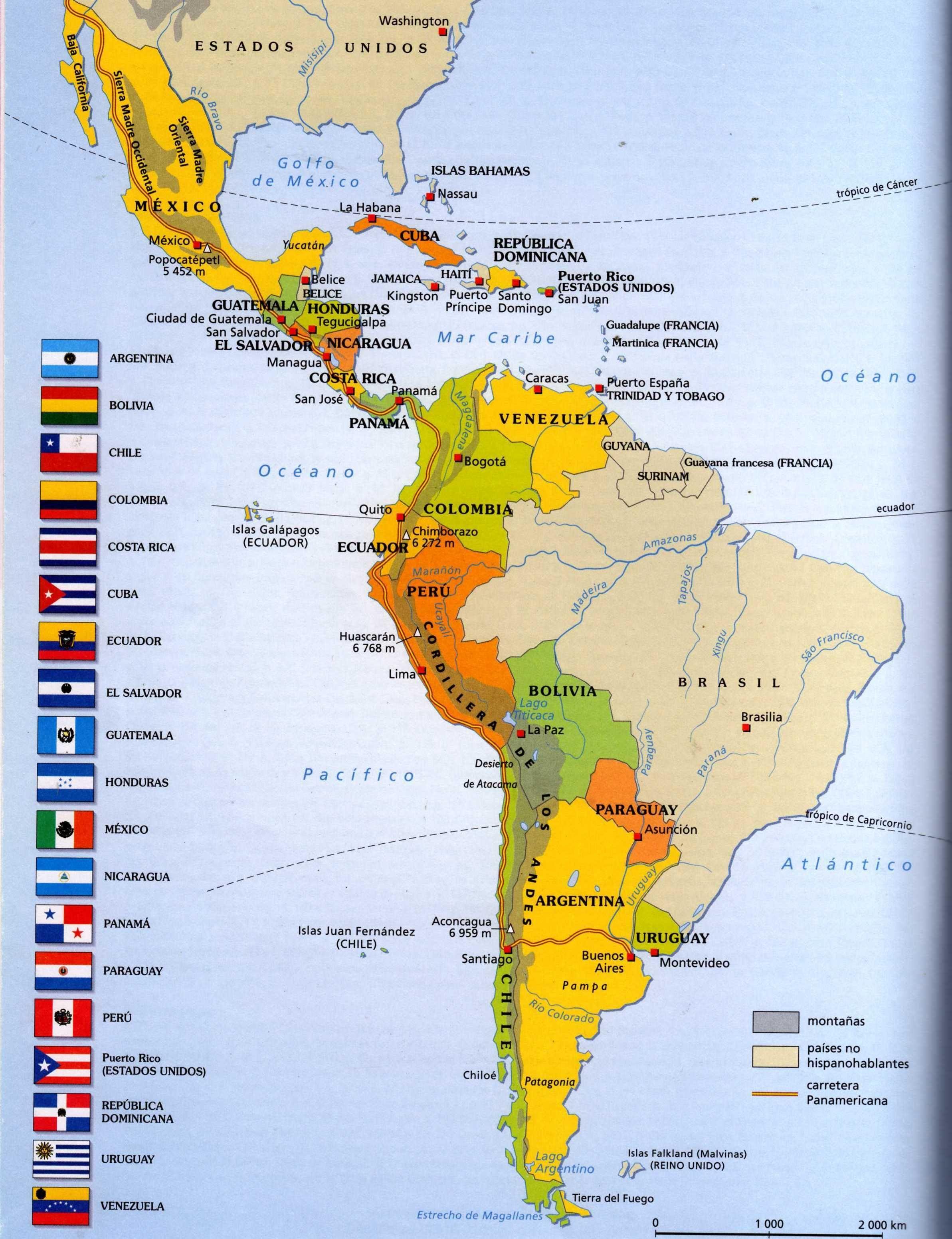 Carte Des Pays Hispanophones Dans Le Monde : carte, hispanophones, monde, Épinglé, {Nationalities, Geography}