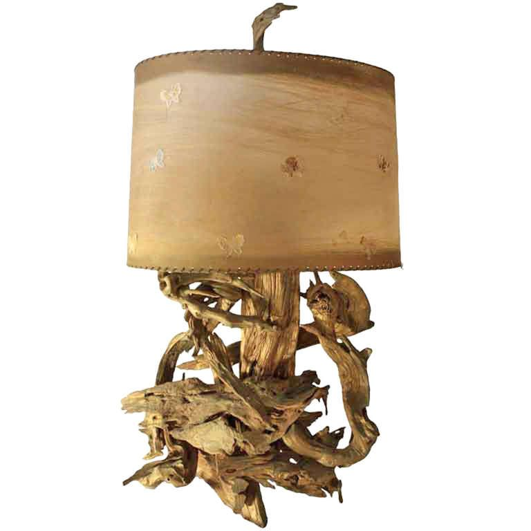 Large driftwood table lamp driftwood table driftwood and modern large driftwood table lamp mozeypictures Image collections