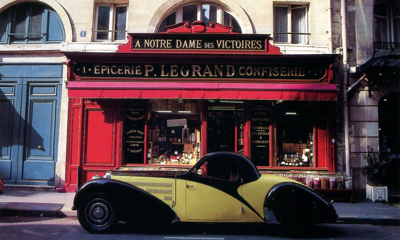 #StoreExterior (Bugatti 57C Atalante 1935)