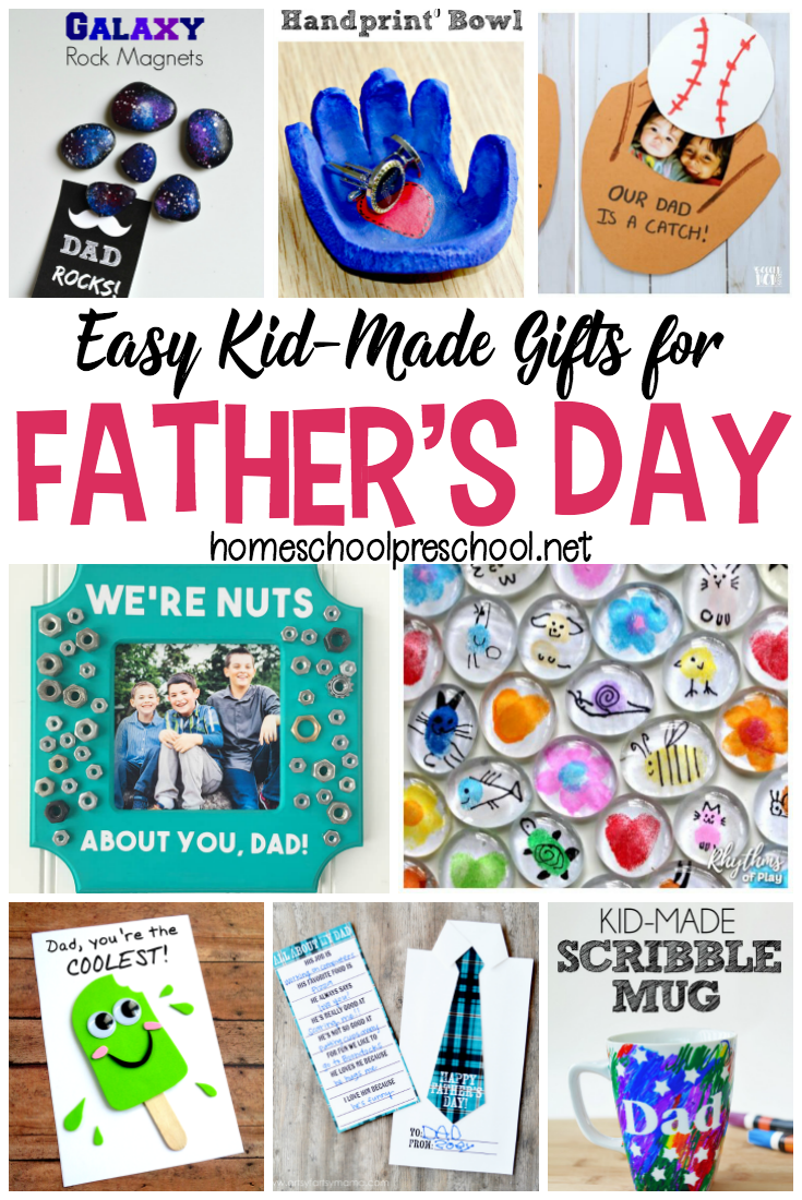 16 Simple Fathers Day Crafts Kids Can Make For Dad Children Church