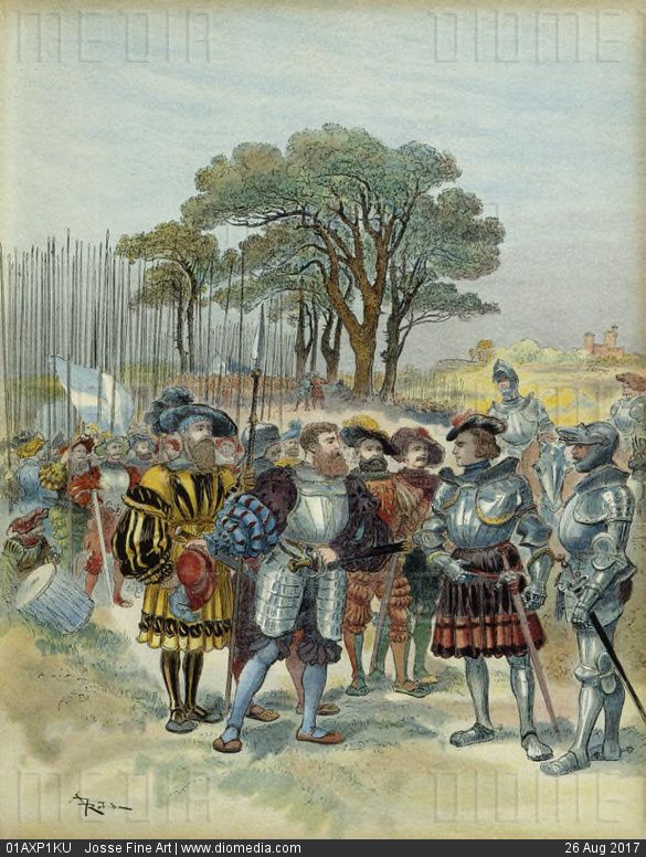 Italian Wars Early Modern Period Artwork Medieval