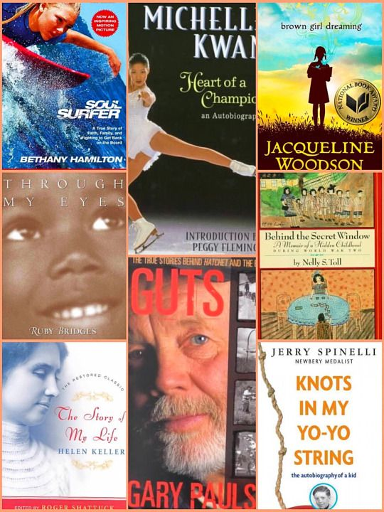 Autobiographies For Kids Finding A Biography A Book
