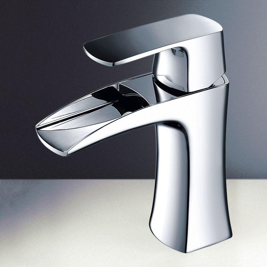 Fresca Fortore Chrome 1 Handle Single Hole Watersense Bathroom Sink Faucet Lowes Com Bathroom Sink Faucets Vanity Faucet Faucet [ 900 x 900 Pixel ]