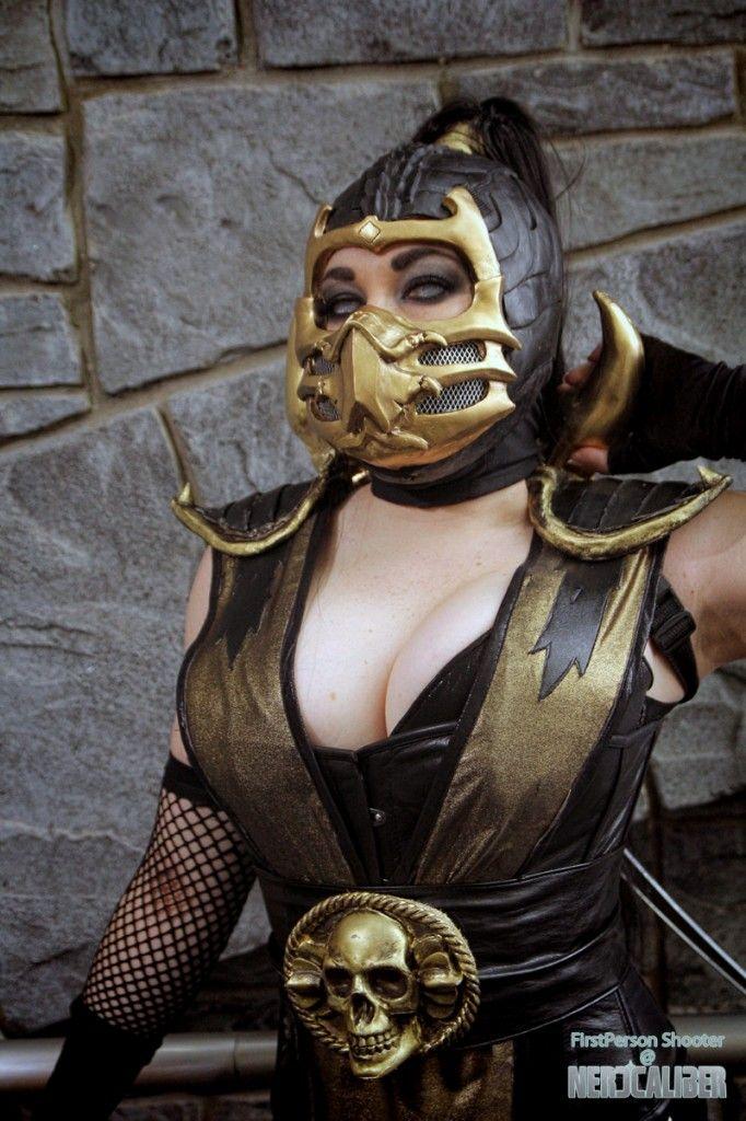 Znak Lady Scorpion Cosplayer Bethany Maddock Series-4958