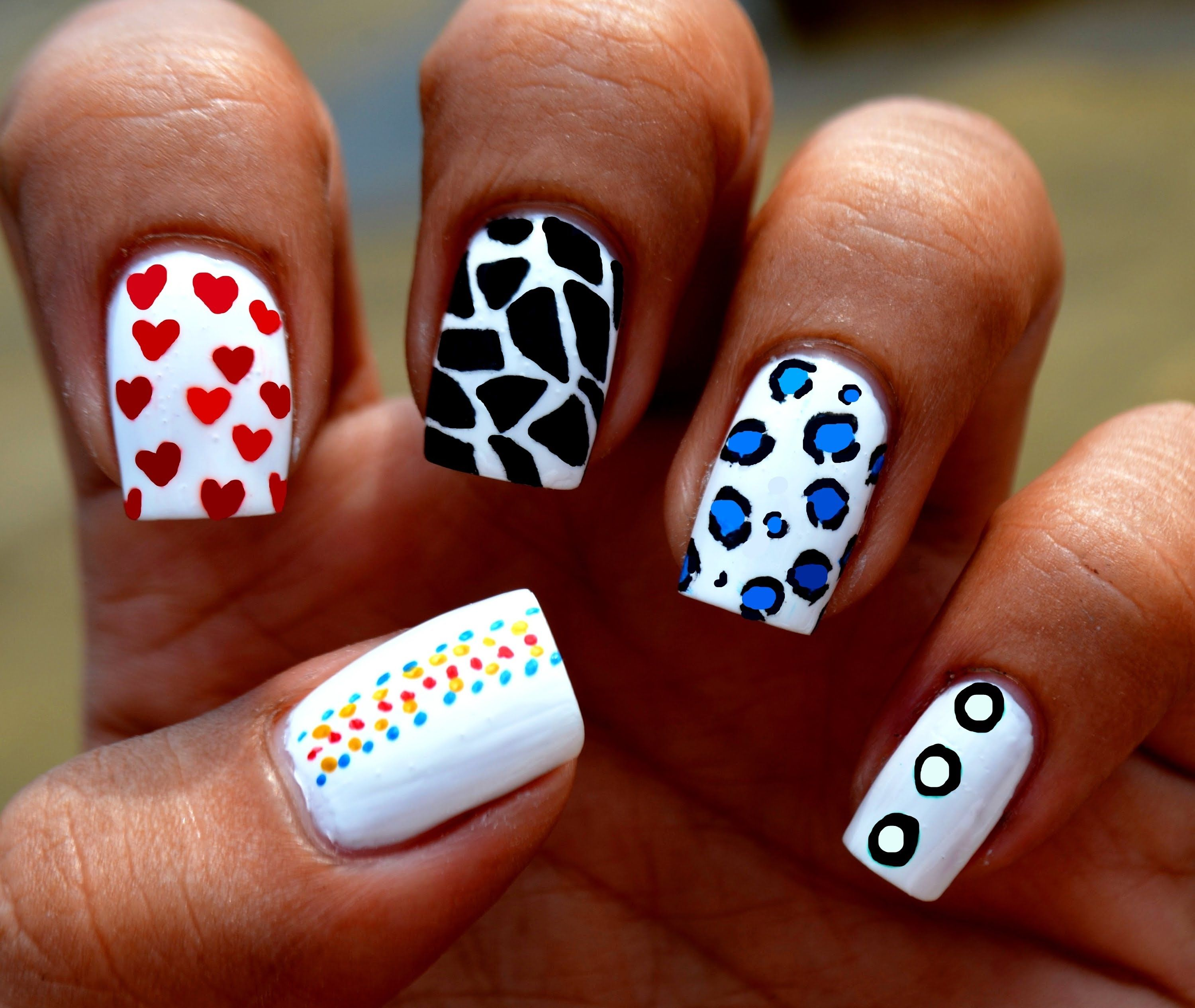 Toothpick Nail Design For Beginners Tutorial [Video] - http ...