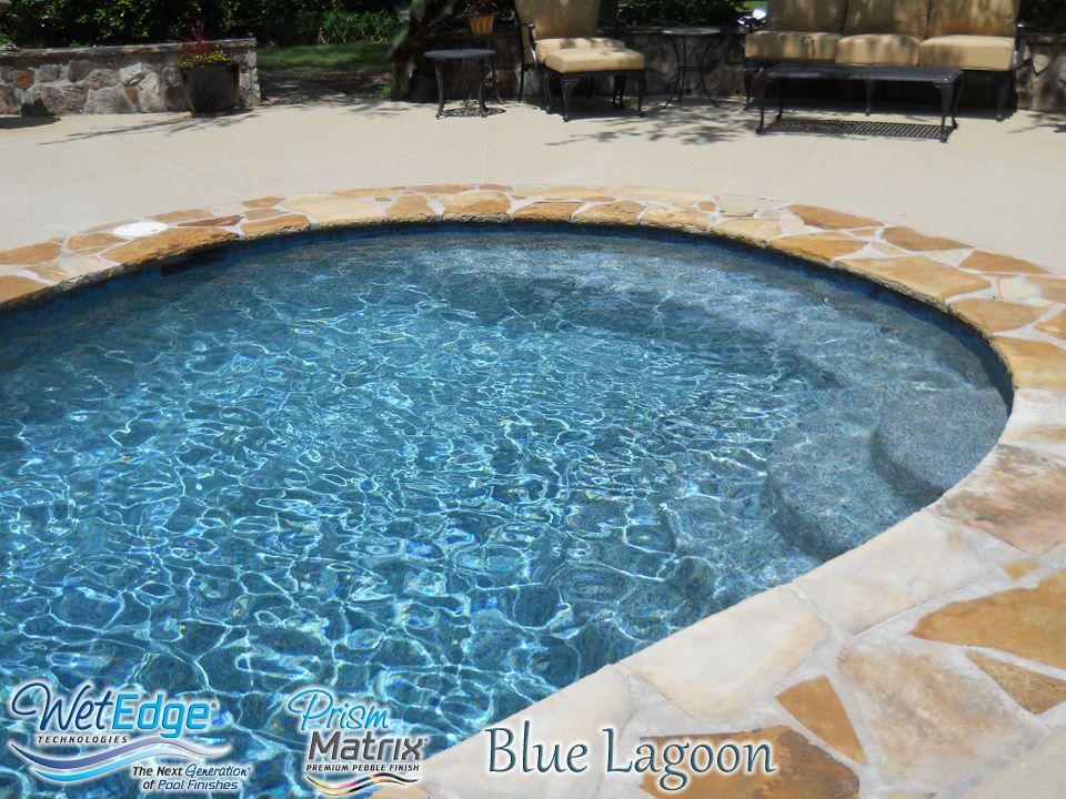 Prism Matrix Blue Lagoon   Installed By ASI Pool Plastering