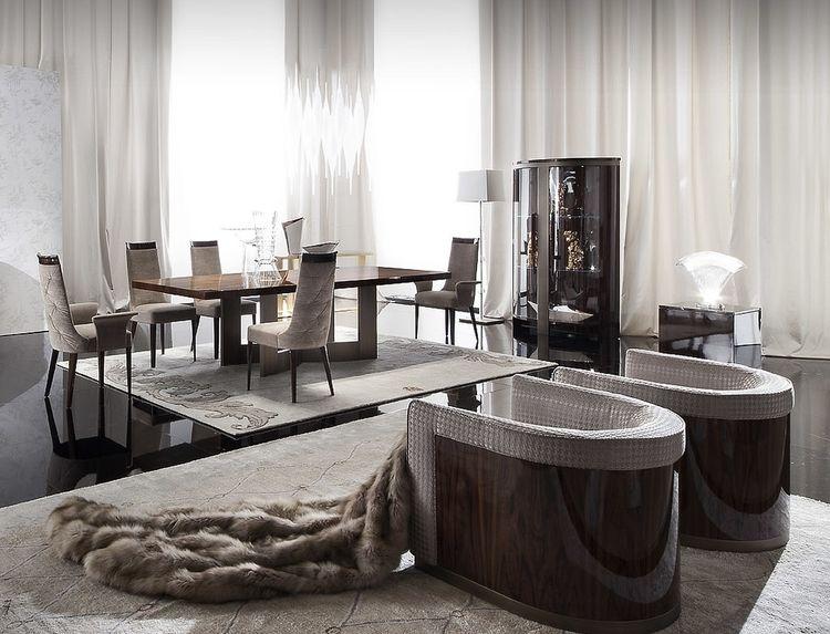 Giorgio Coliseum Fixed Dining Table Contemporary Furniture