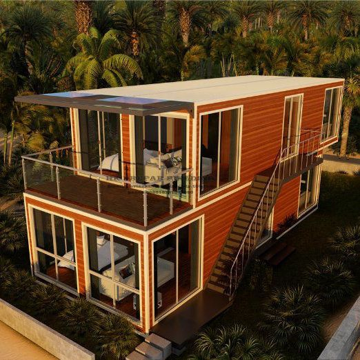 Luxury Shipping Container Homes: Australian Standard Luxury Modular Prefabricated Container