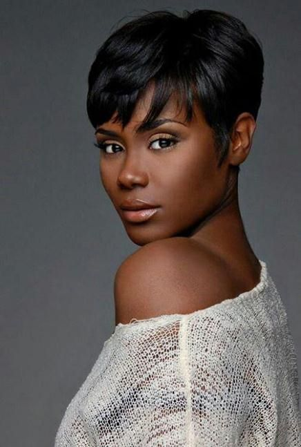 short hairstyles: natural black hair masculine hairstyle for women