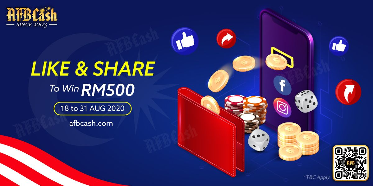 Merdeka Special Like Share To Win Free Bonus Bonus Casino Blackjack