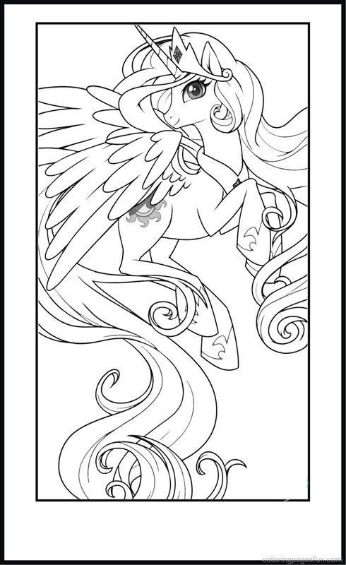 My Little Pony Coloring Pages Printable for Kids | desenhos en 2018 ...