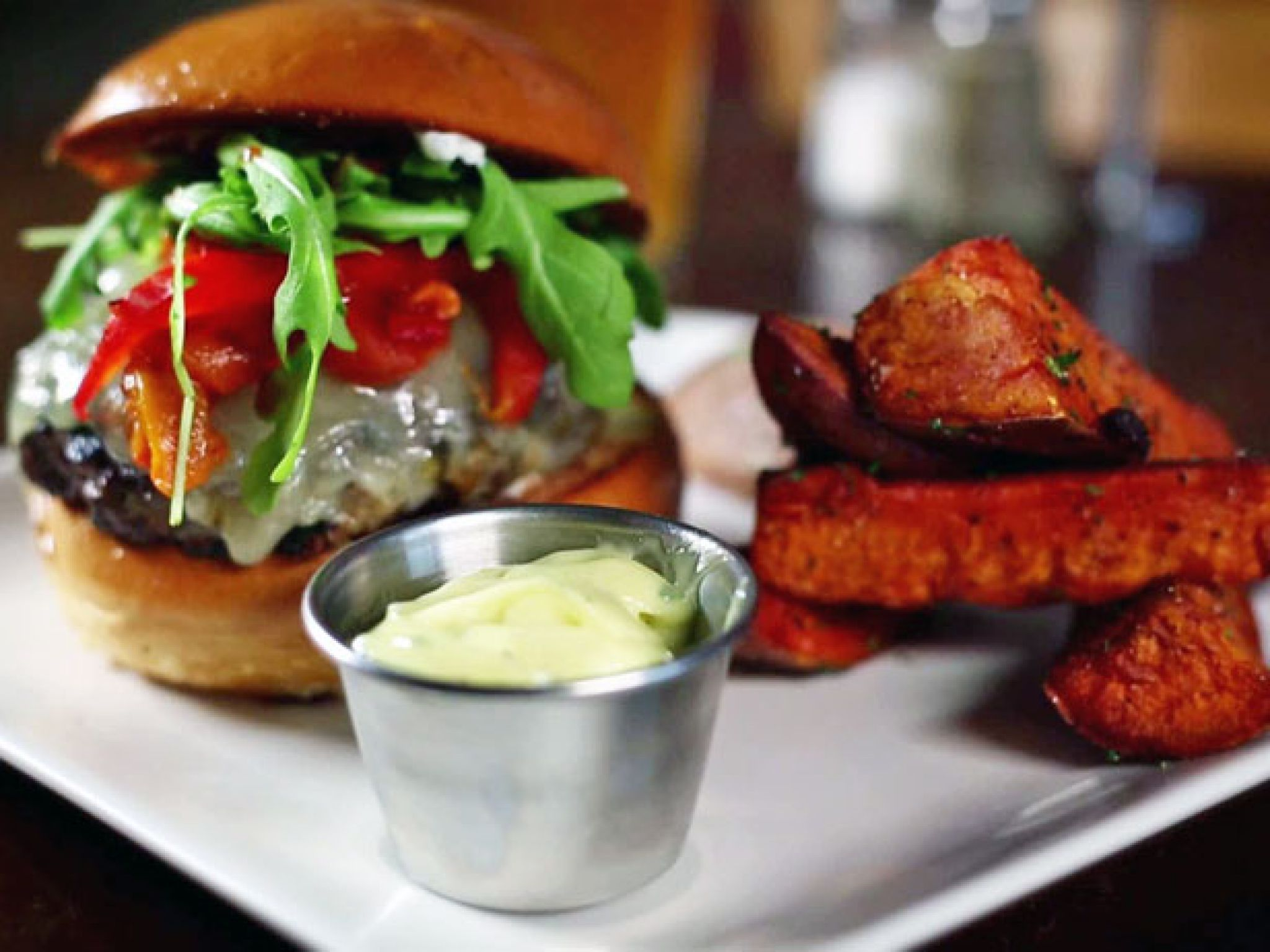 15 Best Burgers From Diners Drive Ins And Dives Food Network Recipes Dove Recipes Lamb Burgers