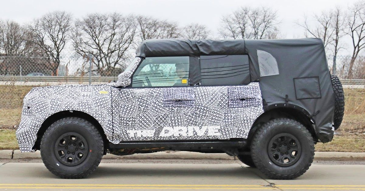 2021 Ford Bronco Spy Shots Review In 2020 Ford Bronco Ford
