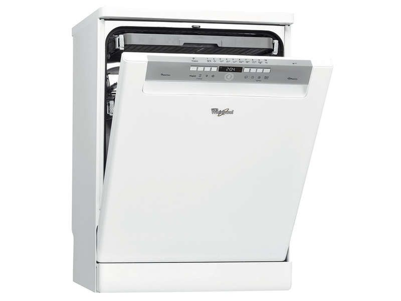 lave vaisselle 13 couverts whirlpool adpl 9874 wh | conforama