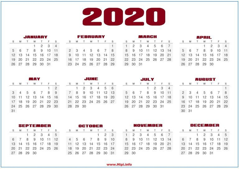 Monthly 2020 Desktop Calendar Wallpapers Calendar Wallpaper