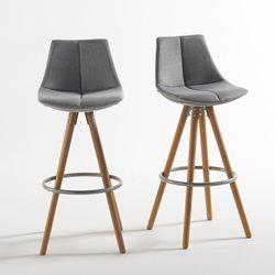 chaise de bar lot de 2 asting la redoute interieurs tabouret de bar deco maison. Black Bedroom Furniture Sets. Home Design Ideas