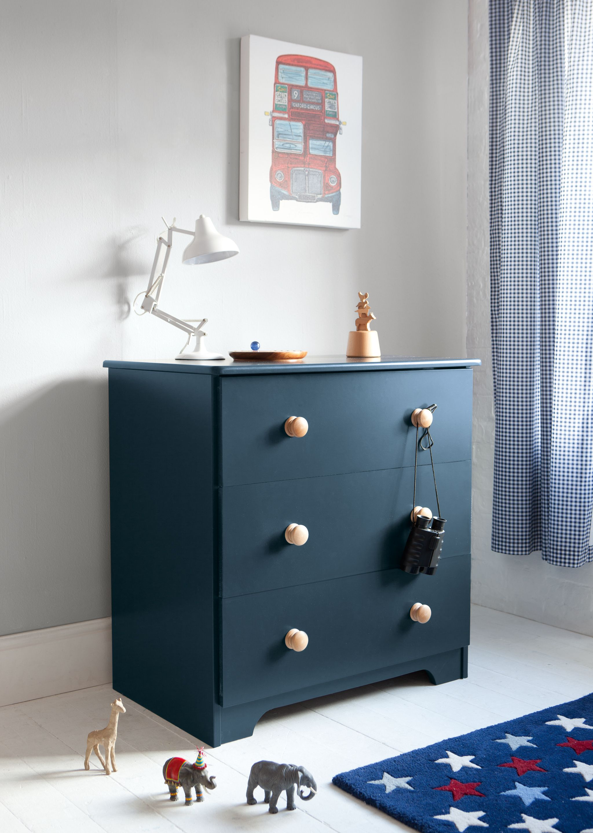 Something to add a splash of colour to a child's bedroom