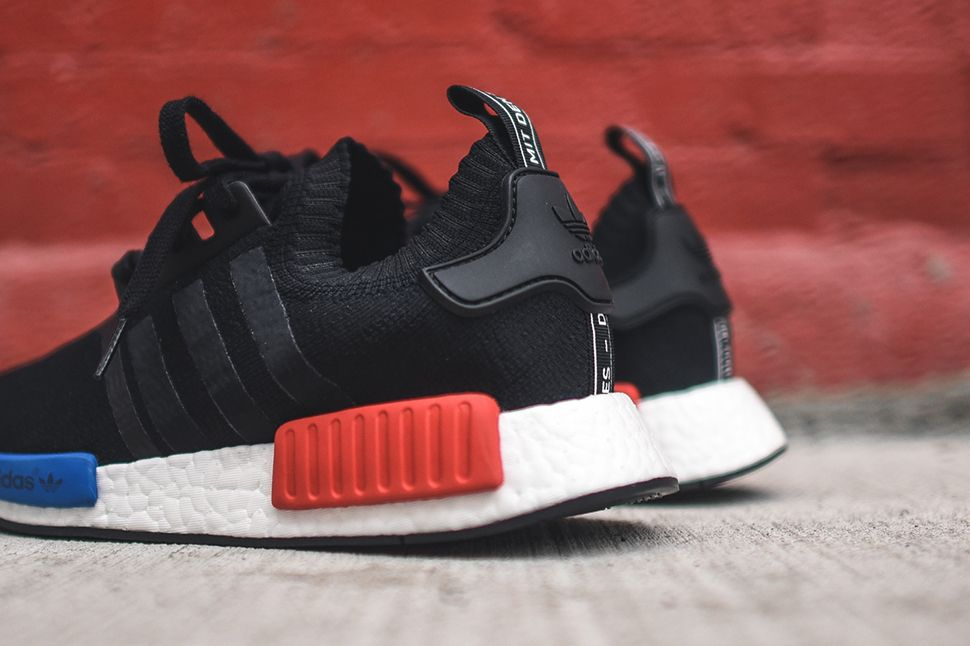 adidas nmd runner black and red
